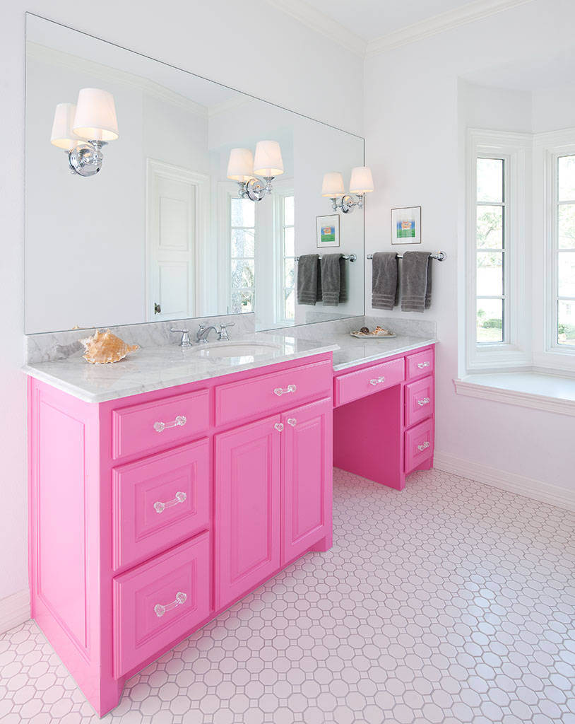 cute little girl bathroom ideas