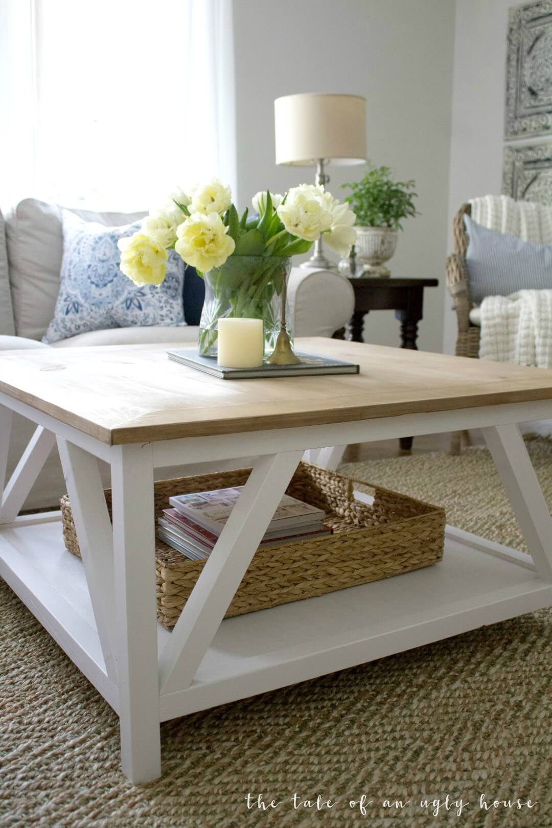 diy farmhouse coffee tablesdiy farmhouse coffee tables