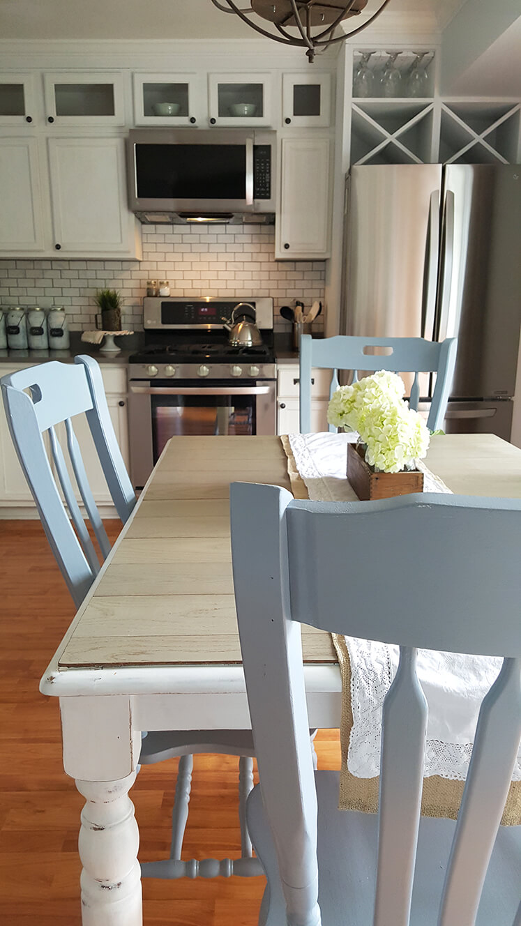 diy farmhouse table chairs