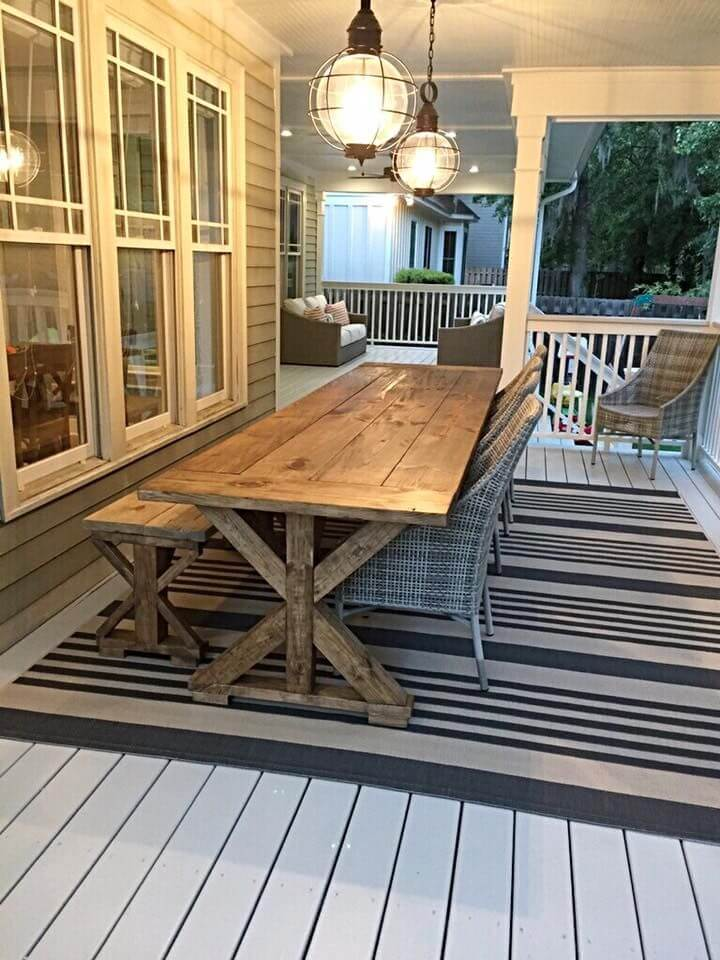 diy farmhouse table legs