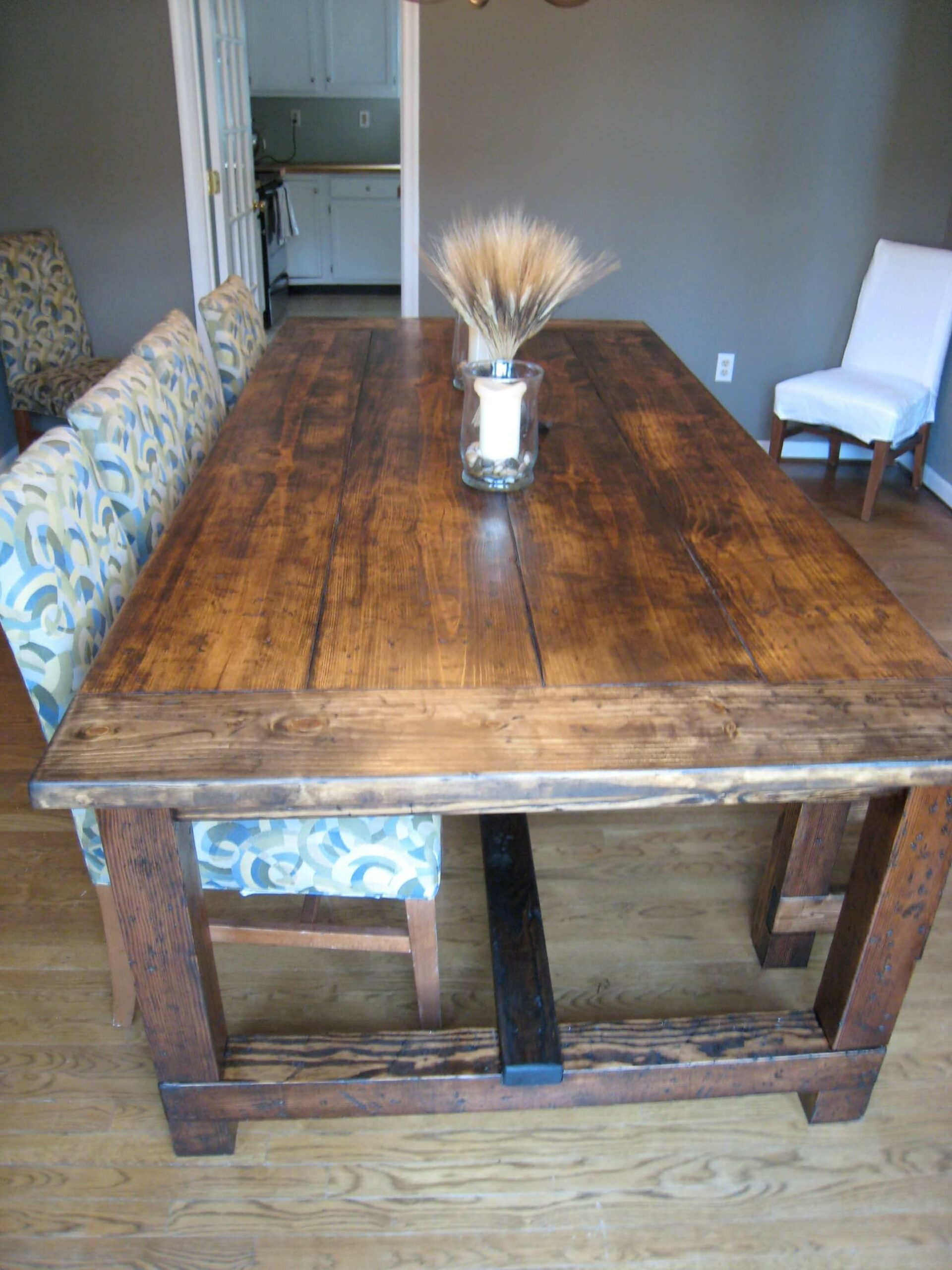 diy farmhouse table top
