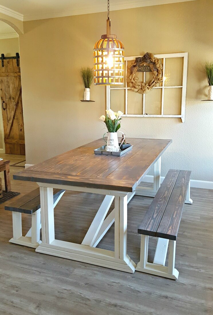 diy farmhouse tables
