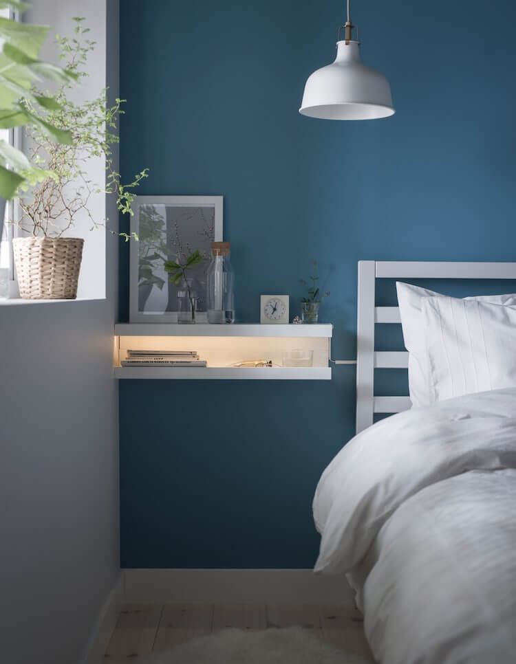 diy floating nightstand with drawer