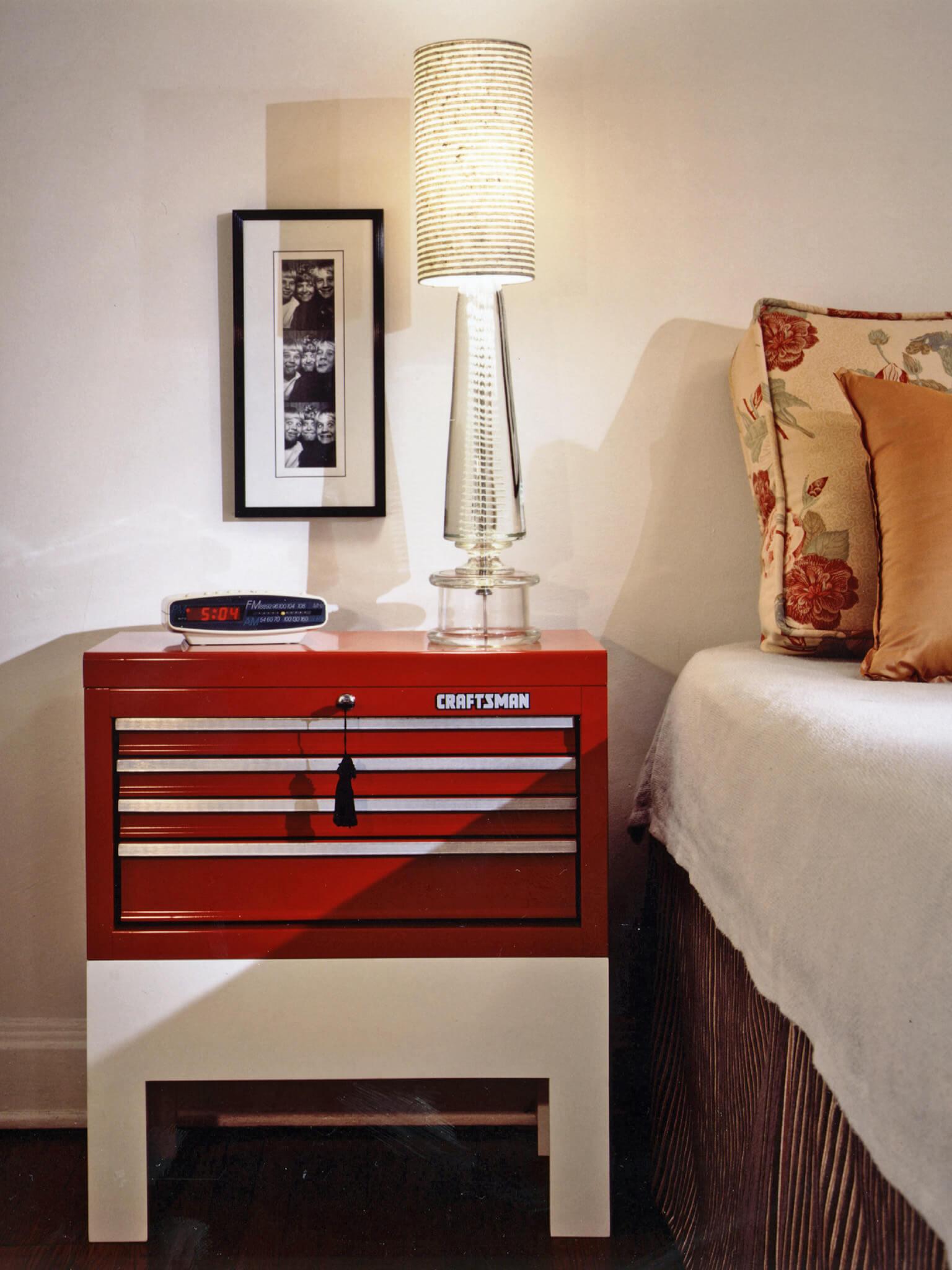 diy nightstand paint