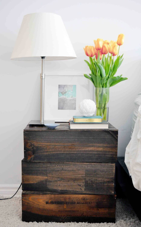 diy nightstand wood