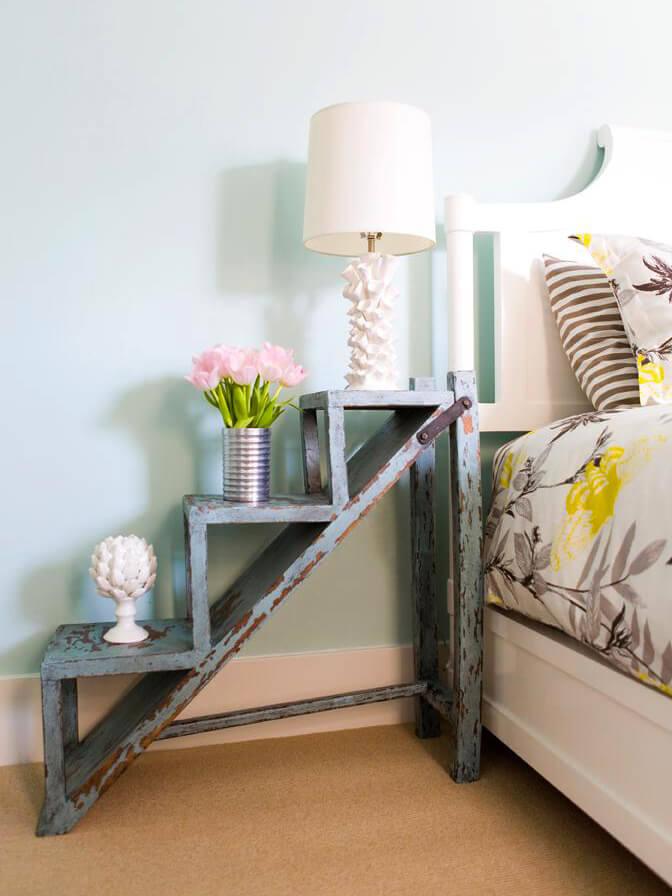 diy rustic nightstand plans