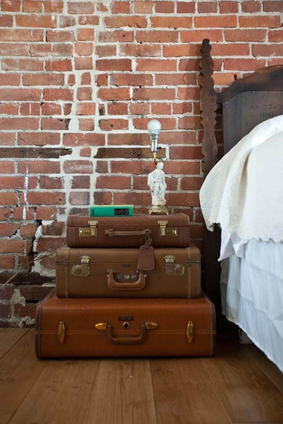 diy vintage nightstand