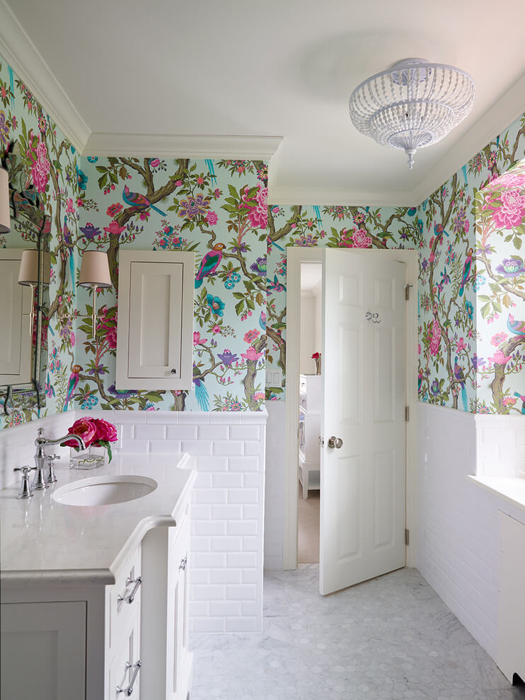 girl bathroom design ideas