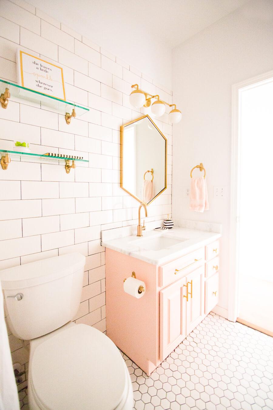 girl bathroom paint ideas