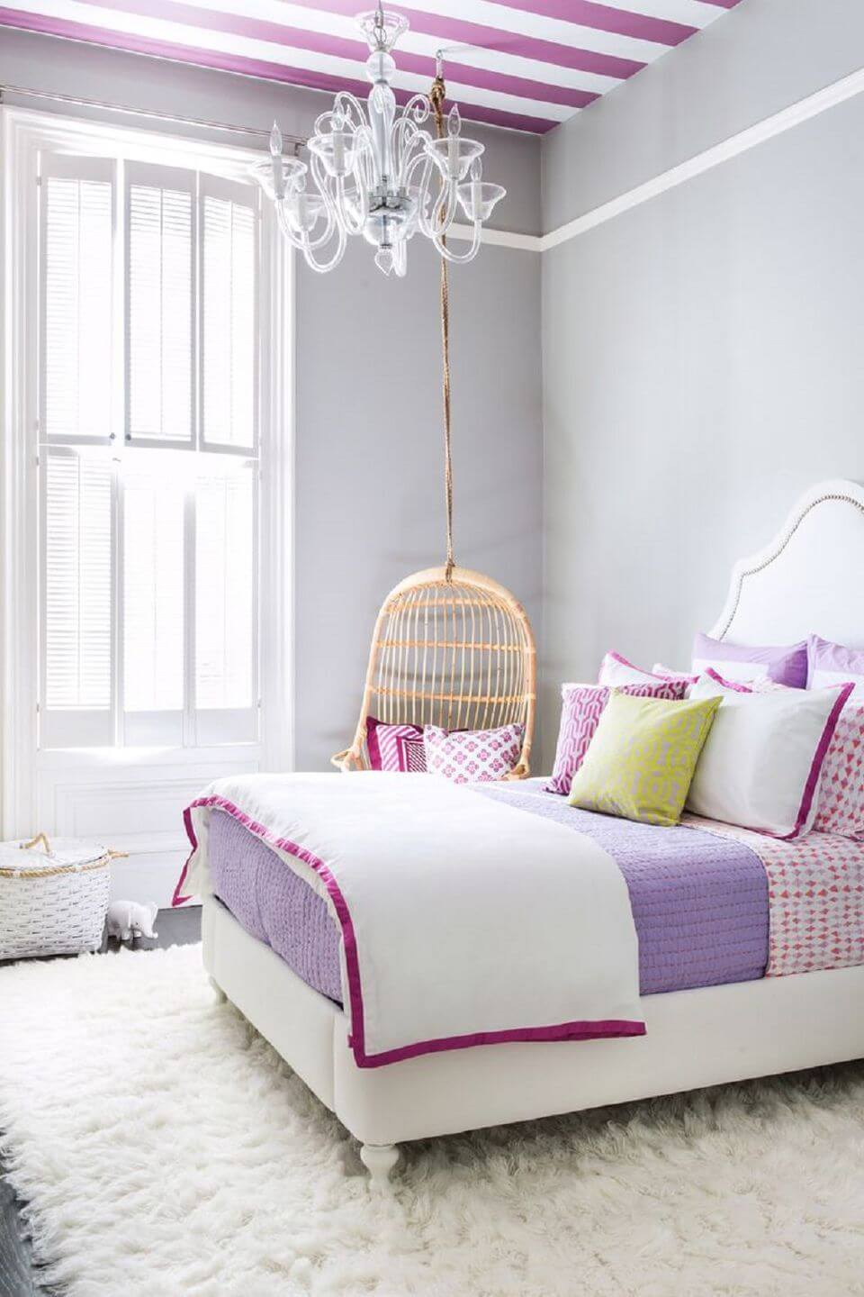 girl bedroom ideas purple