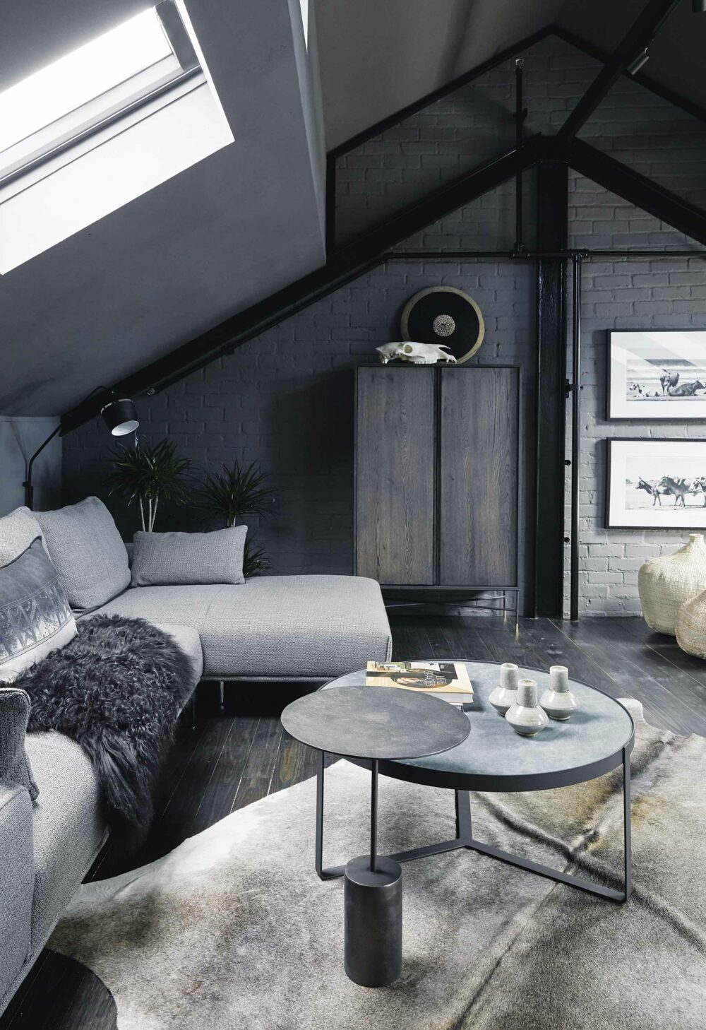 grey black living room ideas