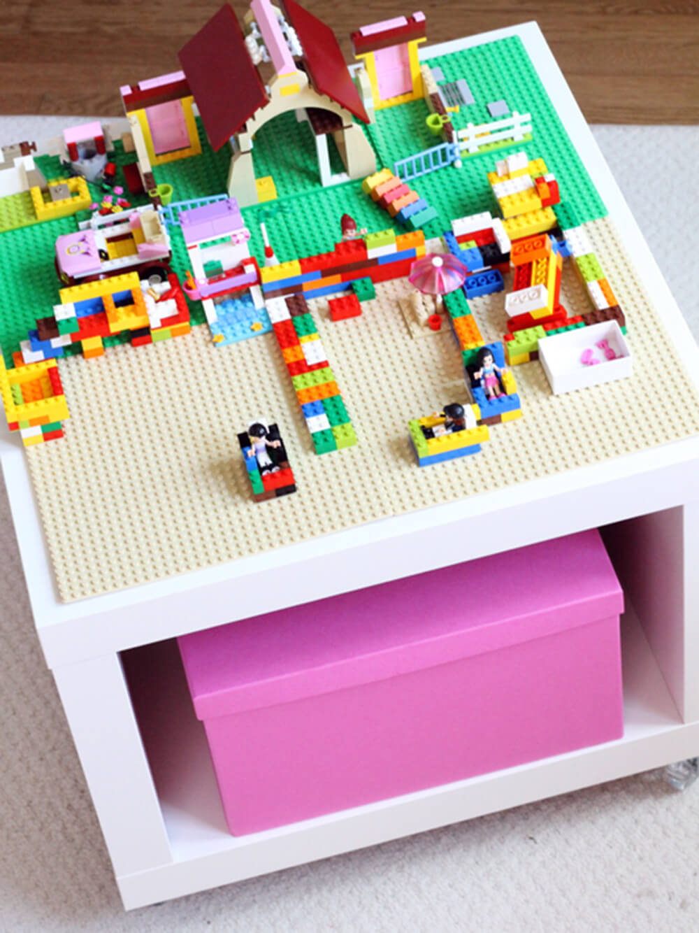 ikea lego hack table
