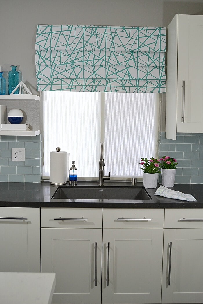 make faux roman shades
