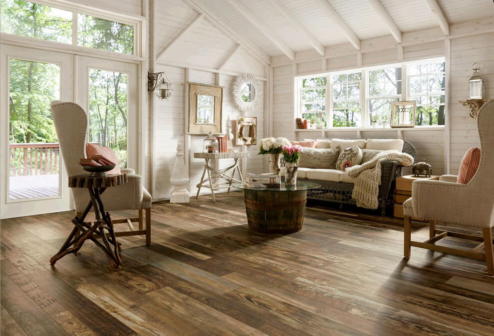 rustic chic living room ideas