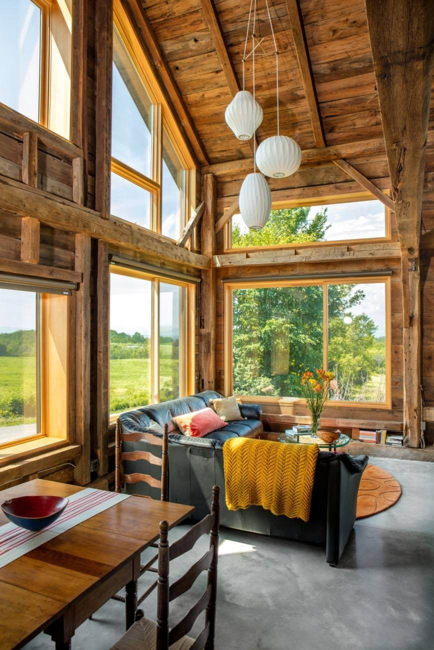 rustic living rooms images