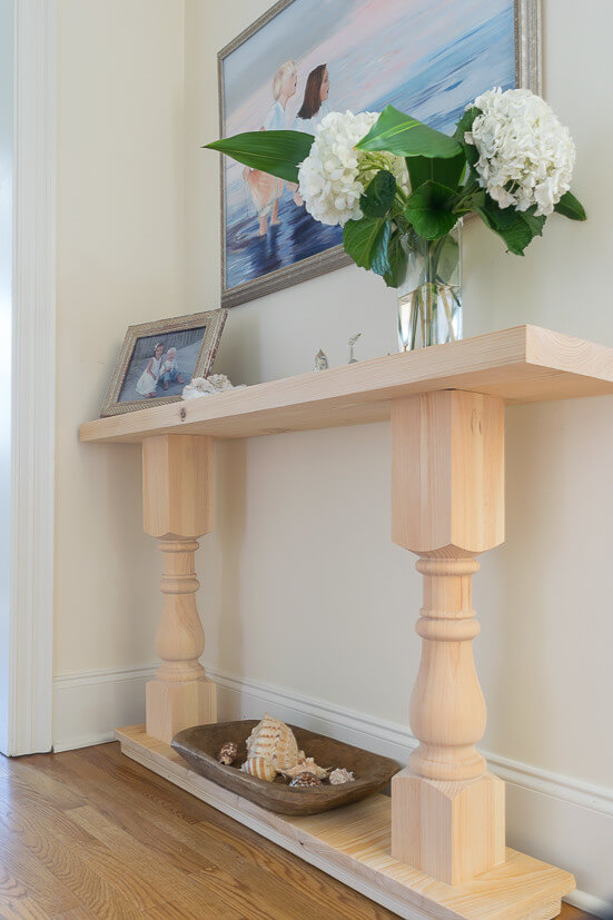 small console table ideas