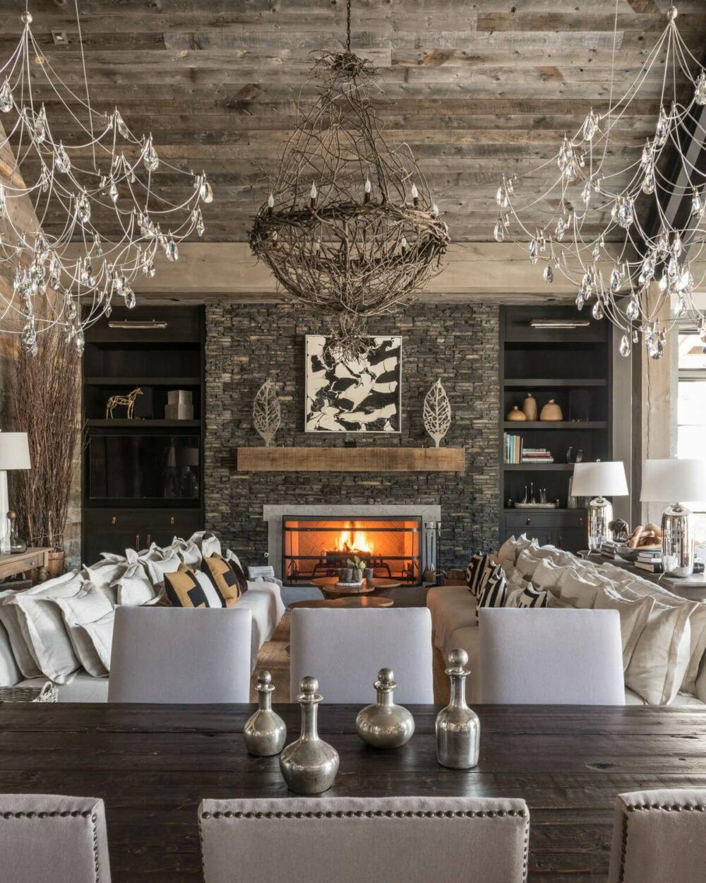 vintage rustic living room ideas